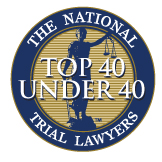 The National Trial Lawyers Top 40 Under 40.
