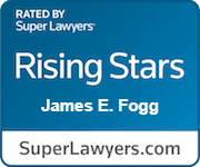 James E Fogg Rated Rising Stars By Super Lawyers.