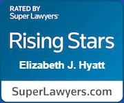 Elizabeth J Hyatt Rated Rising Stars By Super Lawyers.