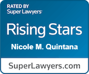 Nicole M Quintana Rated Rising Stars By Super Lawyers.