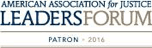 American Association For Justice Leaders Forum Patron 2016.