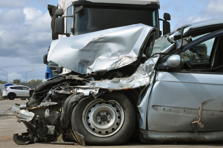 I Was Hit By A Semi Truck Or Commercial Vehicle.