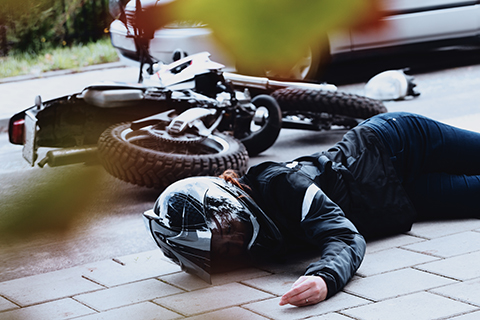 Motorcycle Accident Personal Injury Claim Denver, Colorado.