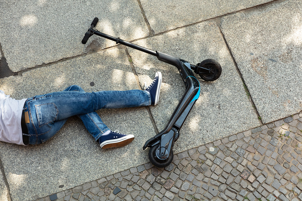 Electric Scooter Accidents And Serious Concussions Denver, Colorado.